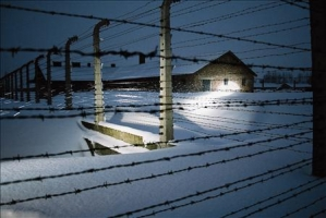 Auschwitz 2005 bei Nacht (1 photo)